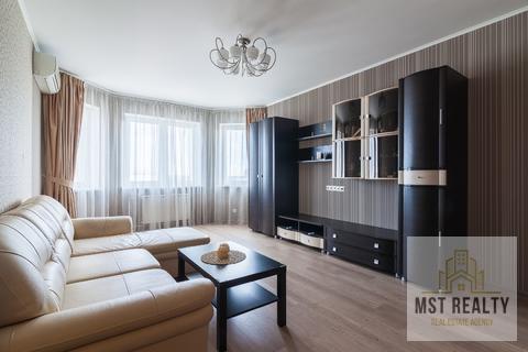 Однокомнатная квартира с эркером в центре города Видное