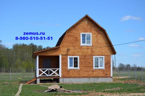 Дом 2016 г, с. Борисово, Можайск, 90 км от Москвы по Минскому