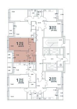 Москва, 1-но комнатная квартира, ул. Радиальная 6-я д.7, 4793691 руб.
