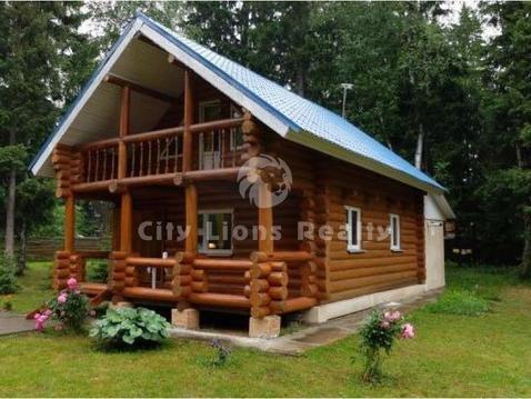 Сивково, Минское шоссе 32 км от МКАД. Милый и уютный деревянный дом пл