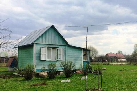 Земельный участок 12 соток с дачным домиком в Домодедовском р-не.