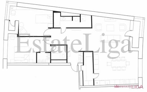 """3-комнатная квартира, 105 кв.м., в ЖК """"Фили Град"""""""