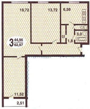 Москва, 3-х комнатная квартира, Сумской проезд д.4к1, 10400000 руб.