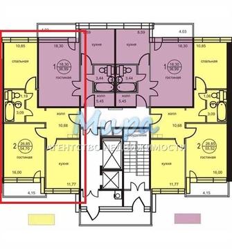 Продается 2-х комнатная квартира, по адресу: Люберецкий р-н, пос.Октя