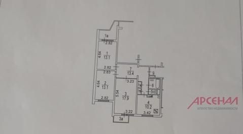 Москва, 3-х комнатная квартира, ул. Октябрьская д.105, 13300000 руб.