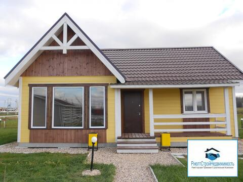 Новый дом из бруса со всеми коммуникациями и мебелью