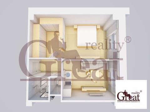 """1-комнатная квартира, 35 кв.м., в ЖК """"на ул. Профсоюзная, 69"""""""