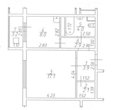 Подольск, 1-но комнатная квартира, Флотский проезд д.1, 2990000 руб.