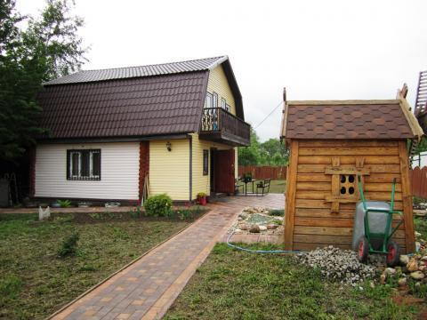 Дом 90 кв.м. на участке 12 соток в селе Покровское, Дмитровского р-на.