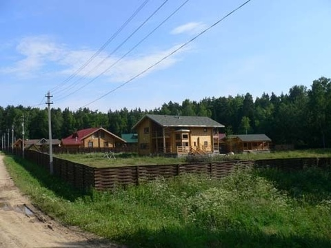 Участок в охраняемом поселке д. Васютино
