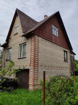 Кирпичный 3 эт. дом в СНТ Лесная быль на участке 10 сот.