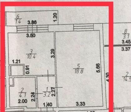 Одинцово, 1-но комнатная квартира, Можайское ш. д.100А, 5600000 руб.