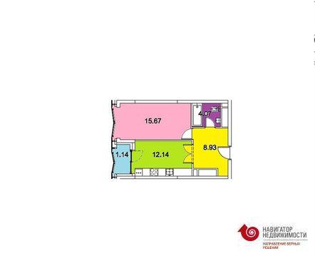 """1-комнатная квартира, 43 кв.м., в ЖК """"ЗИЛАРТ"""""""
