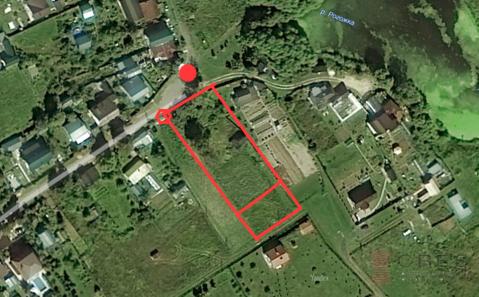 Земельный участок в д. Матвеевское