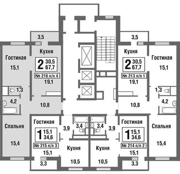 Продажа квартиры, Балашиха, Балашиха г. о, Микрорайон Павлино