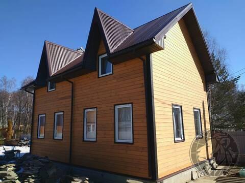 Новый 2 эт. дом на участке 5,6 сотки СНТ Толбино 2, Подольск, Климовск