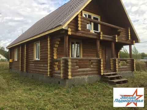 Деревянный 2х этажный дом на 10 сотках в г.Дмитров