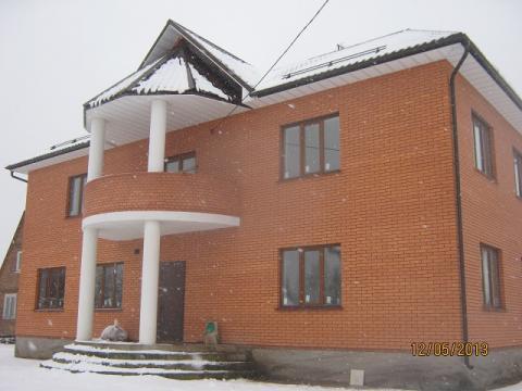 Кирпичный коттедж в Першино, водоём, 55 км Новорязанкое ш
