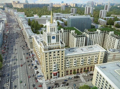 "4-комнатная квартира, в ЖК ""Сады Пекина"""
