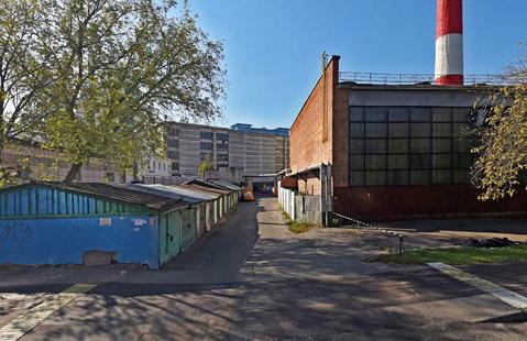Гараж-бокс общей площадью 18 кв. м.