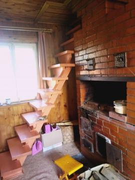 Бревенчатый дом с участком в деревне Бурково, Можайского района, .