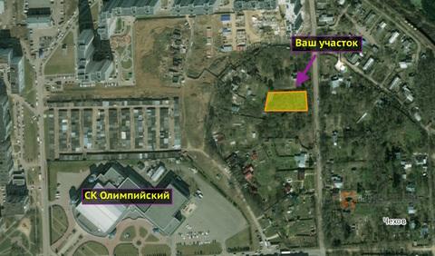 Продаю земельный участок 9 соток город Чехов, ул. Центральная