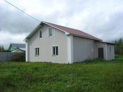 Качественный деревянный дом на большом участке