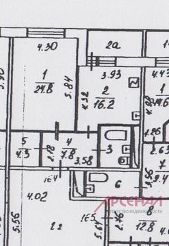 1-комнатная квартира, 58 кв.м., в ЖК «Президент»