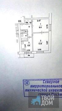 2х ком 40м г Москва ул Петрозаводская д6 Квартира в хорошем состоянии