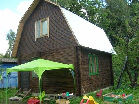 Новый тёплый дом на небольшом участке с хорошей транспортной доступнос