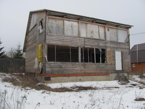 Дом под отделку в деревне Крюково