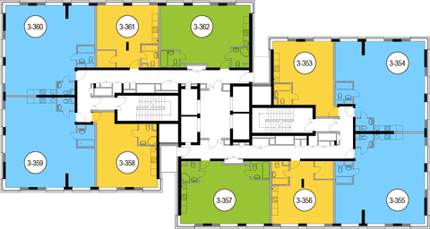 Москва, 3-х комнатная квартира, Головинское ш. д.10, 17385300 руб.
