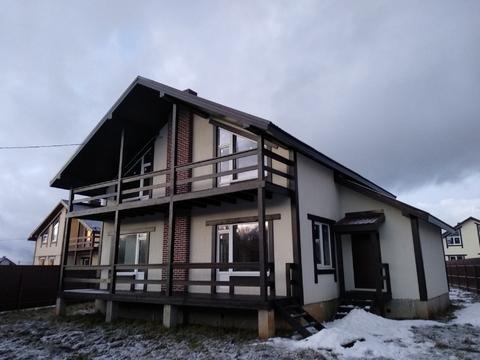 Новый дом 225 кв.м. на участке 10 соток