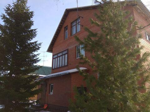 Продается большой красивый 4-х этажный дом в д. Рыбушкино Рузский р.