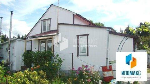 Кирпичный дом общей площадью 50 м2.