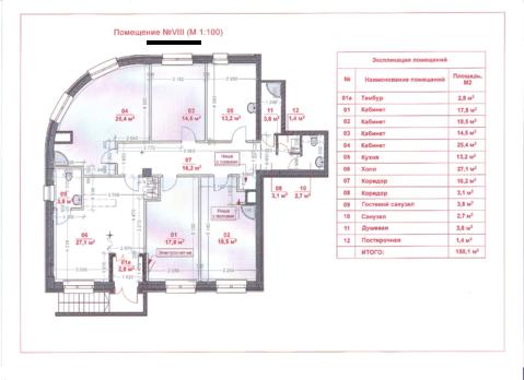 Продажа офисного помещения 157 м2 Дмитрия Ульянова 31