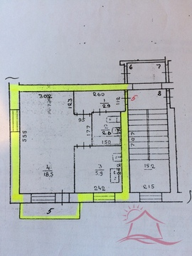 Дубна, 1-но комнатная квартира, ул. Центральная д.21Б, 2100000 руб.