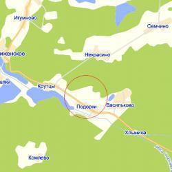 Земельный участок 14 соток (ИЖС), д. Подорки, Клинский р-н