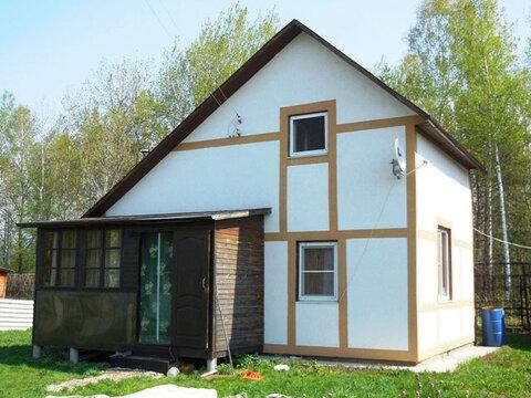 Дача из бруса с печным отоплением, 65 кв.м. Земельный участок 6 соток.