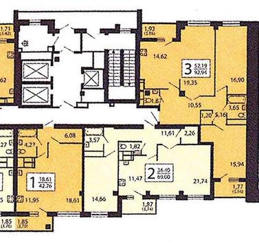 """3-комнатная квартира, 95 кв.м., в ЖК """"Яуза Парк"""""""