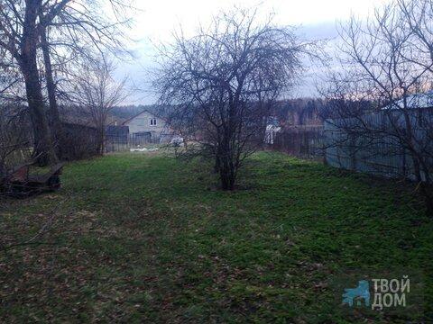 Участок ИЖС 8сот г Егорьевск д Алешино свет и газ по границе лес озеро