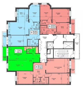 Октябрьский, 1-но комнатная квартира, ул. Ленина д.25, 3150000 руб.