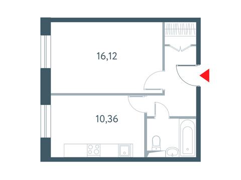 """1-комнатная квартира, в ЖК """"Прайм Тайм"""""""