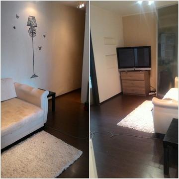 1 комнатная квартира с ремонтом