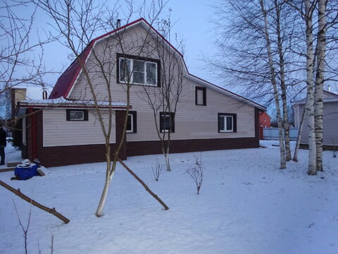 2 дома 230 кв.м д. Верхнее Пикалово, Чеховского района.