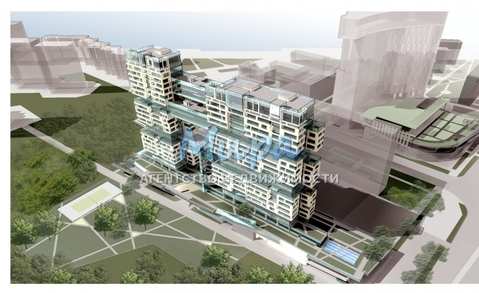 Прекрасная четырёхкомнатная квартира в Жилом комплексе «Versis». Ква