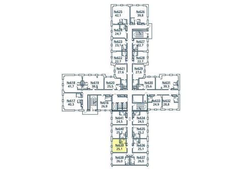 Москва, 1-но комнатная квартира, ул. Радиальная 6-я д.7, к 35, 2869457 руб.