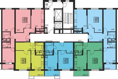 Москва, 1-но комнатная квартира, 2-я Муравская д.1, 4643162 руб.