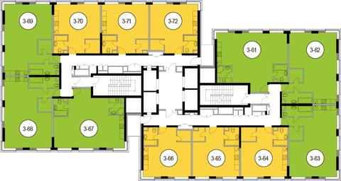 Москва, 2-х комнатная квартира, Головинское ш. д.10, 10907400 руб.