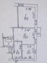 Продаётся Квартира по адресу 3-я Тверская-Ямская д.42/8 (ном. объекта: .